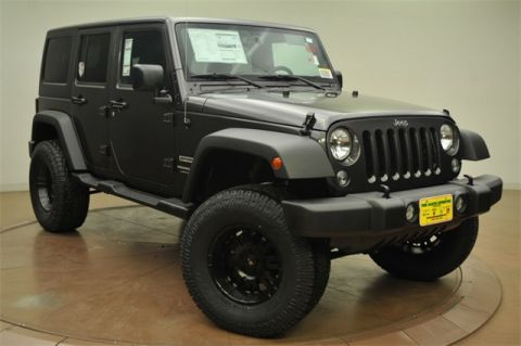 New Jeep Wrangler JK Unlimited Sport XXL Edition