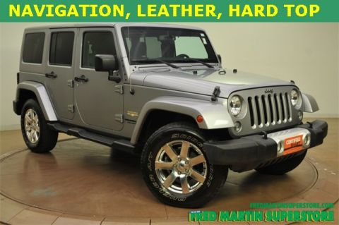 Certified Used Jeep Wrangler Unlimited  Sahara