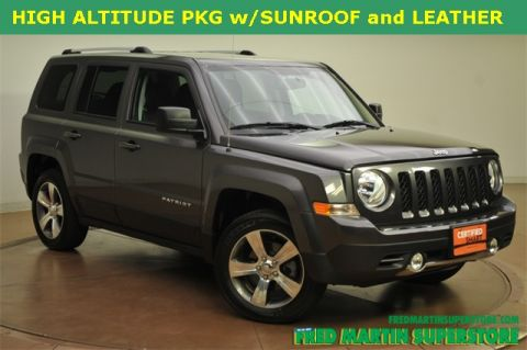 Certified Used Jeep Patriot High Altitude