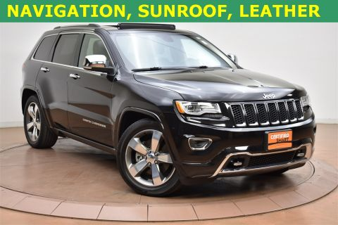 Certified Used Jeep Grand Cherokee Overland