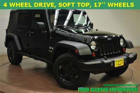 New Jeep Wrangler Unlimited Unlimited X