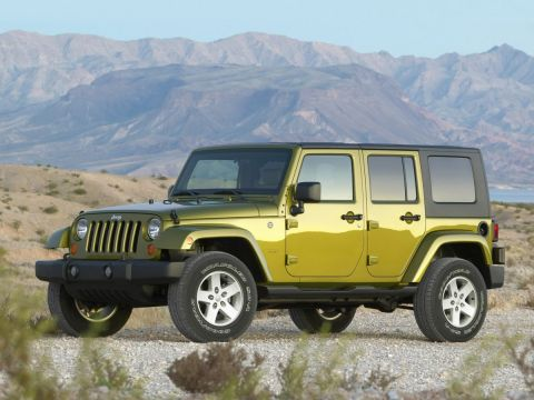 Used Jeep Wrangler Unlimited  Sahara