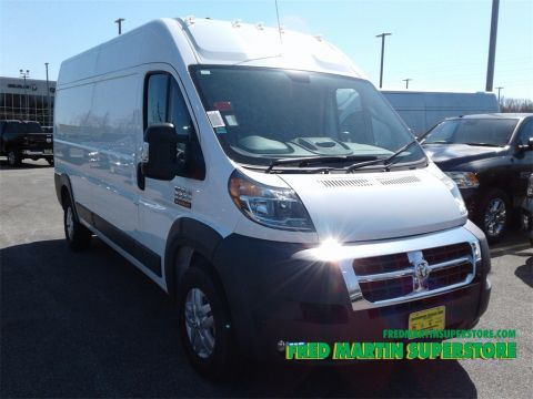 New RAM ProMaster Cargo Van High Roof