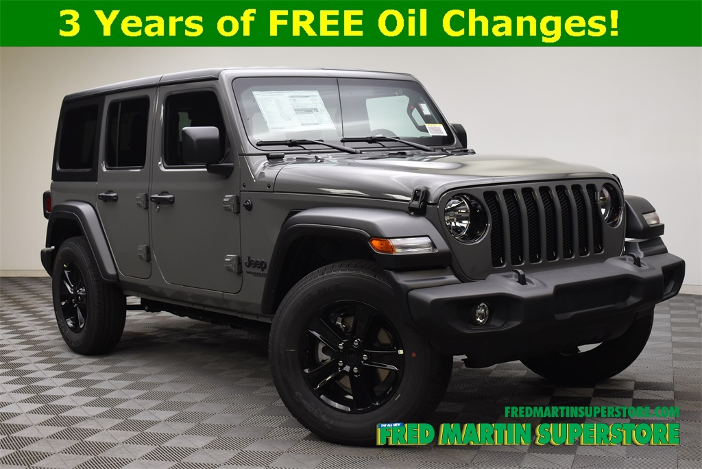New 2020 Jeep Wrangler Unlimited Sport Altitude 4x4