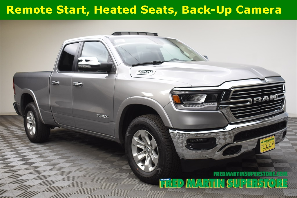 New 2019 RAM All New 1500 Laramie Quad Cab in Barberton 1T