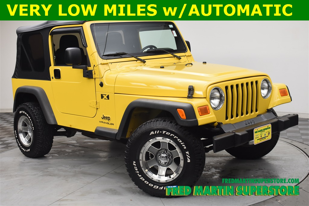 Pre Owned 2006 Jeep Wrangler X 2D Sport Utility In Barberton