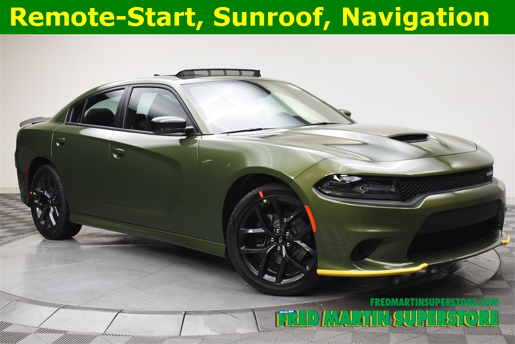 New 2019 Dodge Charger Gt Sedan In Barberton 1t19604 Fred Martin