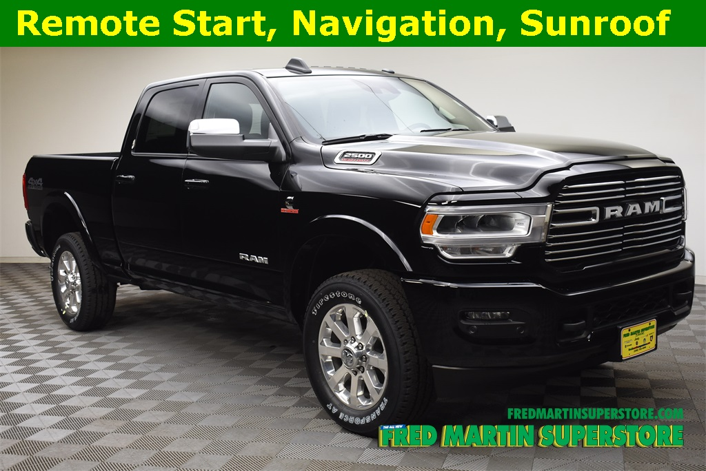 Black Ram 2500 >> New 2019 Ram 2500 Laramie Crew Cab 4x4 6 4 Box