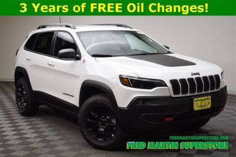 New 2019 JEEP Cherokee Trailhawk