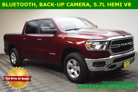 Pre-Owned 2020 RAM 1500 Big Horn 4x4