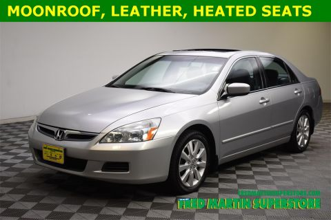 Pre-Owned 2007 Honda Accord EX-L